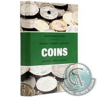 "Pocket album ""COINS"" with sliding inserts for 48 coins - 344961."