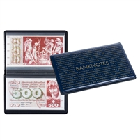 Pocket Album for Banknotes - Blue (210 x 125mm) - 347372
