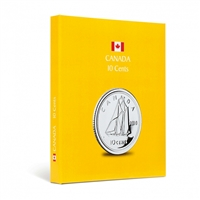 Kaskade Coin Album for Canadian 10 cents - Yellow