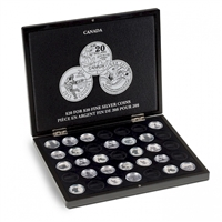 Volterra Duo Deluxe Black Box for Silver $20 for $20 coins (35 spaces)