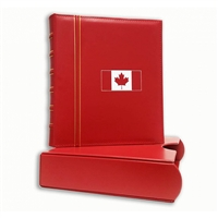 Canada Flag CLASSIC GRANDE SET 3-RING Binder - RED