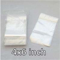 100x Reclosable Bags 4x6 inches (2 mil).