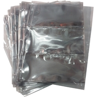 50 x 3-Pocket 3-ring Binder Pages for Paper Money (50 pages)