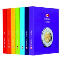 Kaskade Canada Coin Album Collection (9 Books)