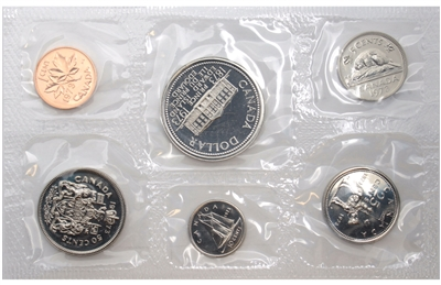 1973 Canada Large Bust Variety Proof Like Set