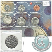 1999-P Canada Test Token Variety Proof Like Set