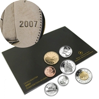 2007 Canada Straight 7 Variety Proof Like Set