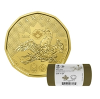 2016 Canada $1 Lucky Loonie Special Wrap Roll - 154463