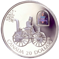 2000 Canada $20 Transportation Car - HS Taylor Fine Sterling Silver