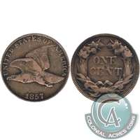 1857 Flying Eagle USA Cent Fine (F-12)
