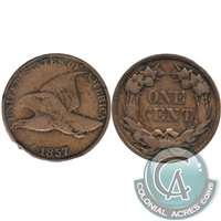 1857 Flying Eagle USA Cent F-VF (F-15)
