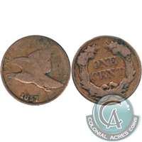 1857 Flying Eagle USA Cent G-VG (G-6)
