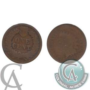 1868 USA Cent About Good (AG-3)