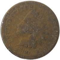 1880 USA Cent About Good (AG-3)