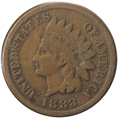 1883 USA Cent Very Good (VG-8)