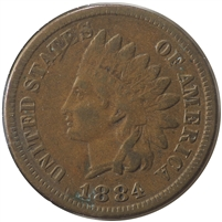 1884 USA Cent Very Fine (VF-20)