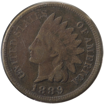 1889 USA Cent VF-EF (VF-30)
