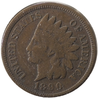 1890 USA Cent F-VF (F-15)