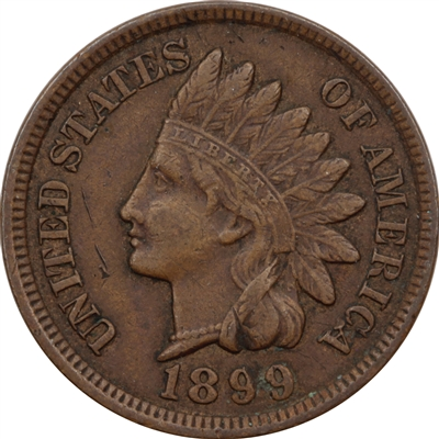1899 USA Cent VF-EF (VF-30)
