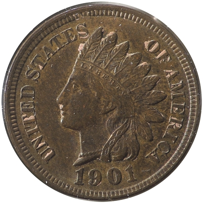 1901 USA Cent Uncirculated (MS-60)