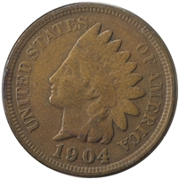 1904 USA Cent F-VF (F-15)