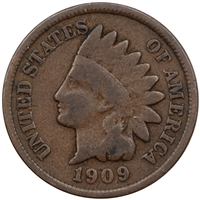 1909 Indian Head USA Cent G-VG (G-6)
