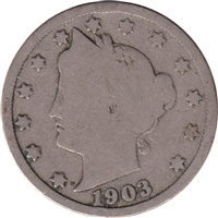 1903 USA Nickel About Good (AG-3)