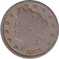 1912 USA Nickel Good (G-4)