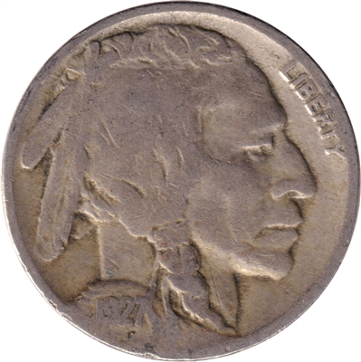 1927 USA Nickel F-VF (F-15)