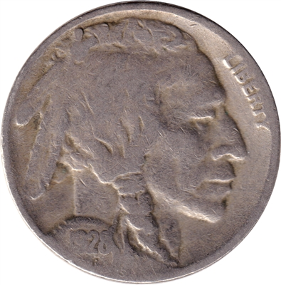 1928 S USA Nickel Fine (F-12)
