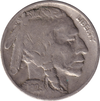 1929 USA Nickel F-VF (F-15)