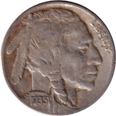 1935 S USA Nickel Very Fine (VF-20)