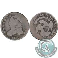1835 USA Dime About Good (AG-3)