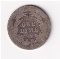 1899 USA Dime About Good (AG-3)
