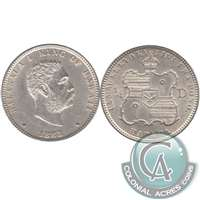 1883 Hawaii USA Quarter AU-UNC (AU-55) $