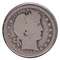 1899 O USA Quarter Good (G-4)