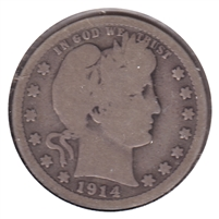 1914 USA Quarter Good (G-4)