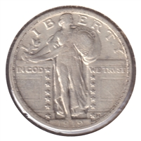1919 USA Quarter VF-EF (VF-30) $