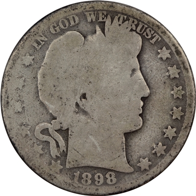 1898 O USA Half Dollar Filler