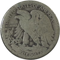 1921 USA Half Dollar About Good (AG-3)
