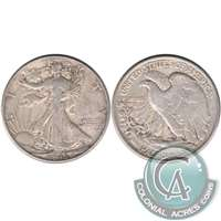 1945 USA Half Dollar VF-EF (VF-30)