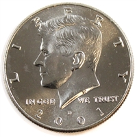 2001 D USA Half Dollar Brilliant Uncirculated (MS-63)