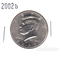 2002 D USA Half Dollar Brilliant Uncirculated (MS-63)
