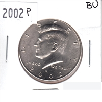 2002 P USA Half Dollar Brilliant Uncirculated (MS-63)