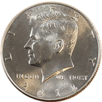 2012 P USA Half Dollar Brilliant Uncirculated (MS-63)