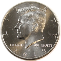 2013 P USA Half Dollar Brilliant Uncirculated (MS-63)