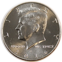 2014 D USA Half Dollar Brilliant Uncirculated (MS-63)