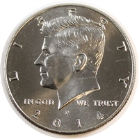 2014 P USA Half Dollar Brilliant Uncirculated (MS-63)