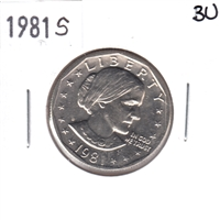 1981 S Susan B. Anthony USA Dollar Brilliant Uncirculated (MS-63)