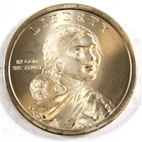 2009P Native American USA Dollar Brilliant Uncirculated (MS-63)